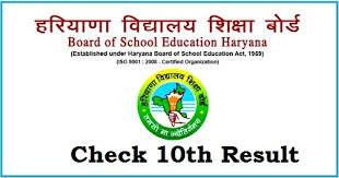 HBSE 10th Result 2018 - HBSE 10th Result 2018